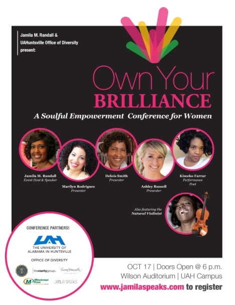 OwnYourBrillianceConference_Flyer